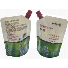 Traitement des cheveux Shampooing Bag / Spout Liquid Bag / Plastic Bag