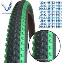pneu de bicyclette et tube 28 x 11/2