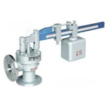 Válvula de seguridad de palanca única tipo ángulo (GA41H)