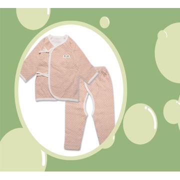 Ensemble de costume de corps de bébé en coton biologique 2PCS avec DOT Design Manufacture en Chine