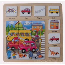 Educational Wooden Puzzle Wooden Toys (34773)