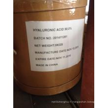 Produits cosmétiques pour l'hydratation de l'acide hyaluronique Sodium Salt