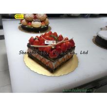 Geburtstagskuchen Tablett, Kuchenbrett, Kuchenteller, gestanzte Kuchenbretter mit SGS (B & C-K057)