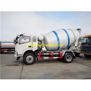 Dayun 4000 liter Beton Mixer Trucks