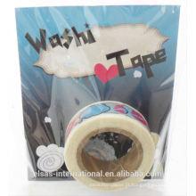 Custom Make Japanese Washi Tape, fita de washi impressa personalizada