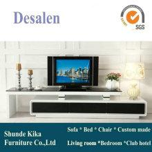 Простой дизайн современный телевизор стенд мебель (057)