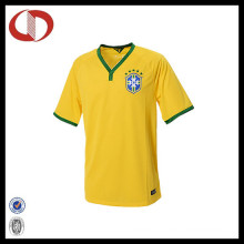 Wholesale Latest Design Quick Dry Mans Short Sleeve Soccer Jersey