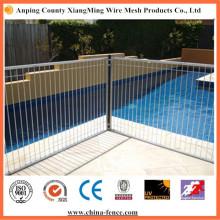 Heiß getaucht Galvanisierter Stahl Schwimmbad Zaun