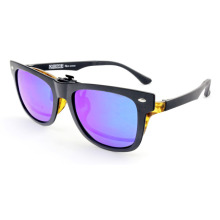 Fashion Simple Light Frame Flip up Style Xiamen Sunglasses (14341)