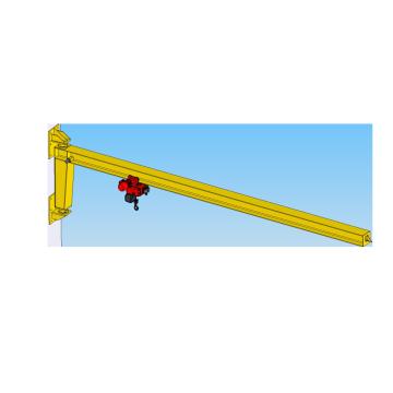 Taller 1T Dibujo de diseño de grúa de brazo montado