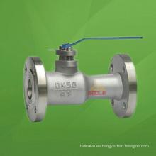 Válvula de bola con brida uni-cuerpo (GAQ41M)