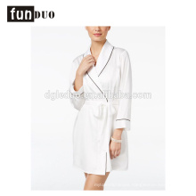2018 Women satin pajama fahion home dress night-robe short dress