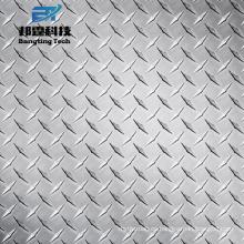 Diamante patrón en relieve hoja 1050 1100 3003 placa de control de aluminio