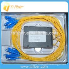 ABS Box Type 2x16 Fiber Optic PLC Splitter