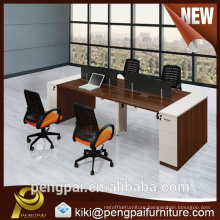 Cheap sale four seater office staff desk