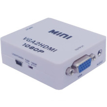 Mini VGA to HDMI Converter Scaler VGA2HDMI Converter