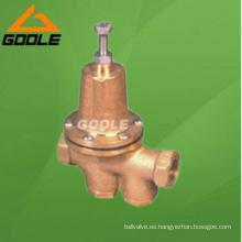 Válvula reductora de presión de bronce (GA200P)