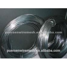 Ovaler Draht 15x17 elektro- oder feuerverzinkter Draht