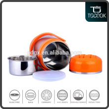 Stainless steel hot lunch box / Factory price lunch box