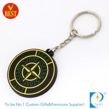 High Quality Cheap Custom Grey Promotional Rubber Soft PVC Keychain