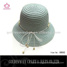 Korean Fashion Paper Bowler Hat GW062