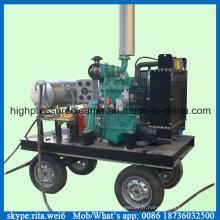 500bar moteur Diesel sable Blaster nettoyeur haute pression laveuse Machine