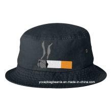 Alta qualidade personalizado Cigaret Emoji Bucket Hat Cap
