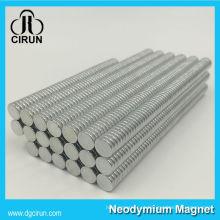 China Fabricante Super Strong High Grade Rare Earth sinterizado Armação Permanente e campo define Magnets / NdFeB Magnet / Magneto de Neodímio