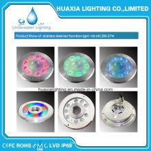 27watt 316 Stainless Steel High Power LED Fountain Underwater Light