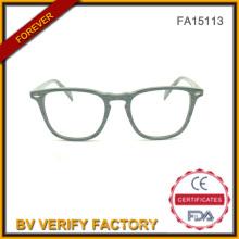 Novos óculos retrô Arond acetato para mulheres (FA15113)
