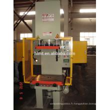 Colonne simple étirage presse hydraulique avec test de pression