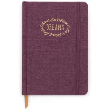 EGGPLANT-DREAMS NOTEBOOK -0