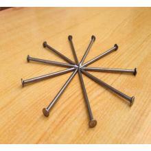 Clavo de hierro redondeado común para la construcción