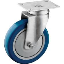 Polyurethane Wheel Swivel Caster dengan Ball Bearing