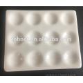 Placa de reacción de cerámica de porcelana física y química para la prueba de laboratorio
