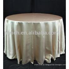 Toalha de mesa cetim de casamento lindo