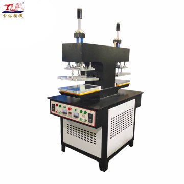 Silicone label embossed finished shirt making machine