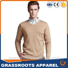 2016 new design plain sweater cashmere sweater woolen sweater designs for man