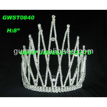wholesale large rhinestone queen diamond tiara