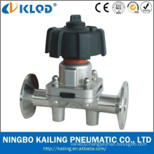 Manual Operated Diahpragm Valves, tri-clamp connection, DN8~50