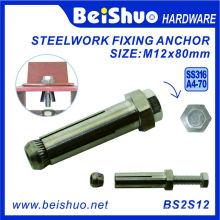 M12 Hollow Hex Schraube für Wandbinder Beton Anker Schraube