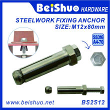 M12 Hollow Hex Bolt for Wall Ties Concrete Anchor Bolt
