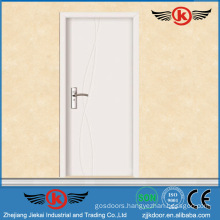 JK-P9063 JieKai new designs interior wood door / standard interior door dimensions / interior office door with glass window