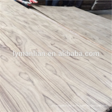 3mm Burma natural teak veneer plywood for india