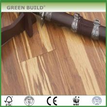 Plancher de bambou massif en bois de tigre grain de bois 15mm