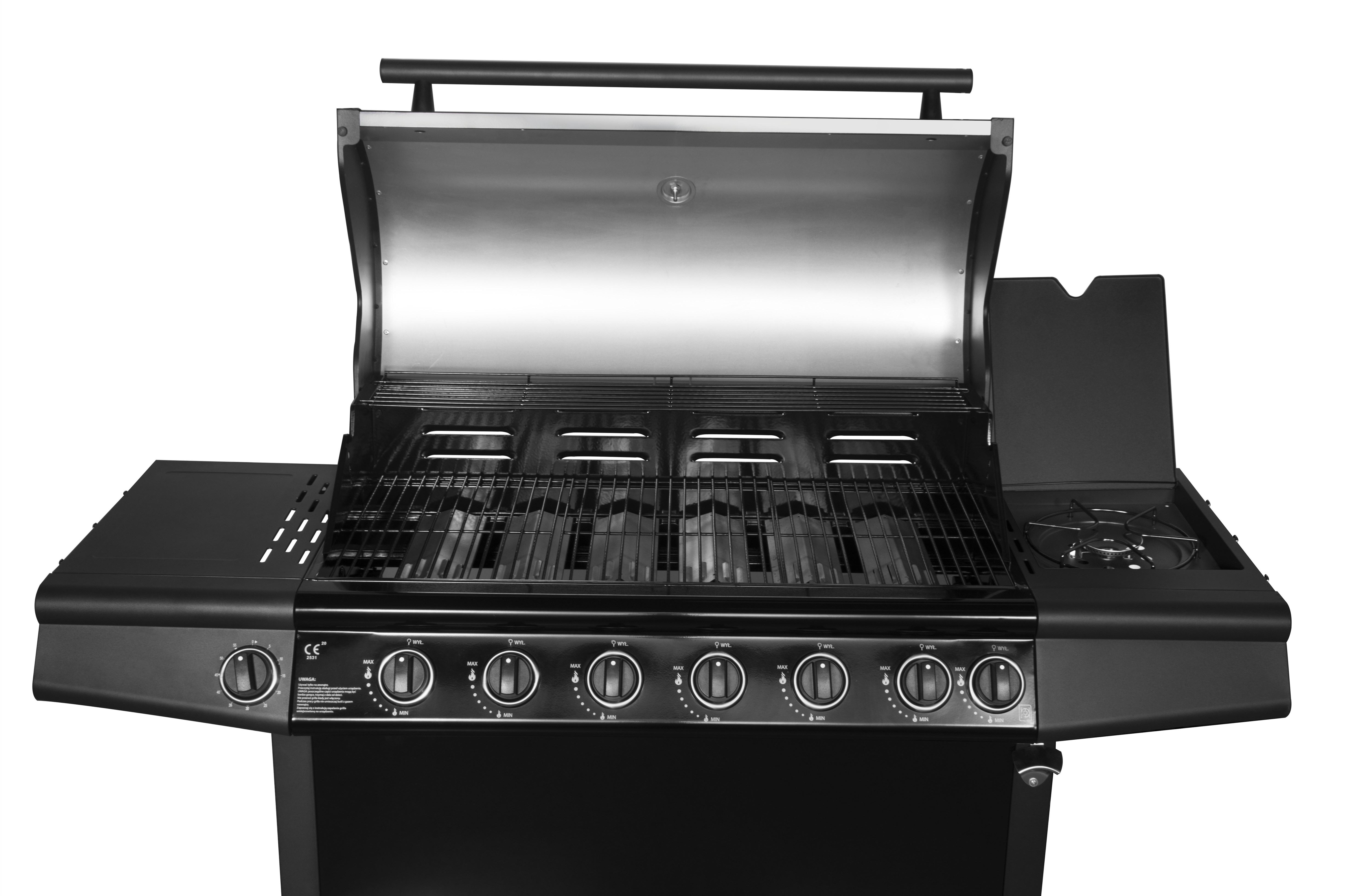 Portable 6 Burner Gas Barbecue Grill