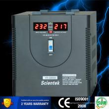 SCIENTEK Тип реле Светодиодный дисплей 8000VA 4800W Автоматический регулятор напряжения