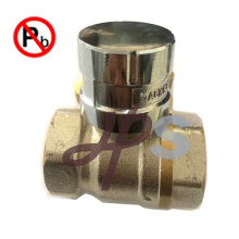 Valve verrouillable magnétique en laiton à faible teneur en plomb avec clé
