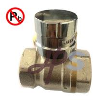 Válvula Lockable magnética de bronze da ligação baixa com chave