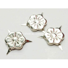 3 Prongs Flower Shaped Nailheads for Leather Work